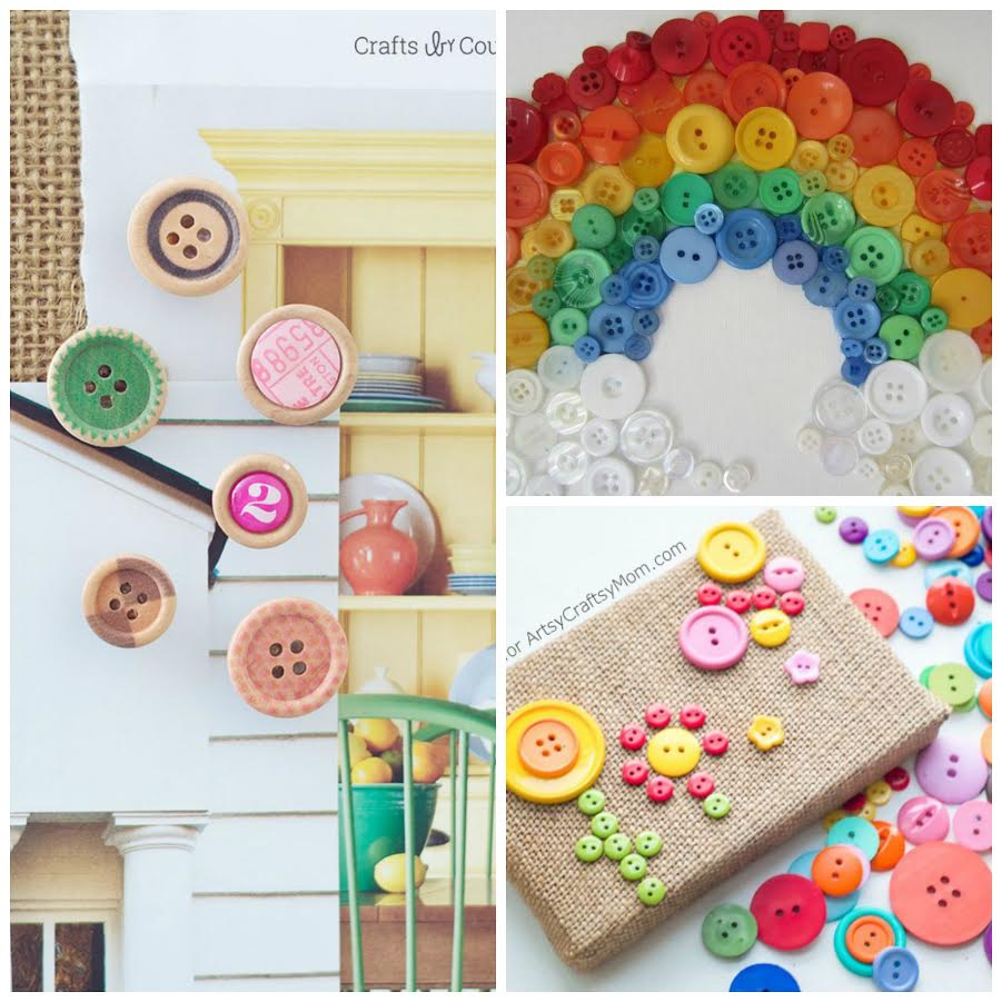 Button Crafts for Kids