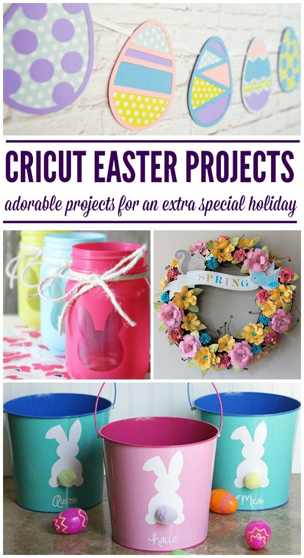 Cricut Easter Projects