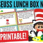 Fun Dr Seuss Lunch Box Notes