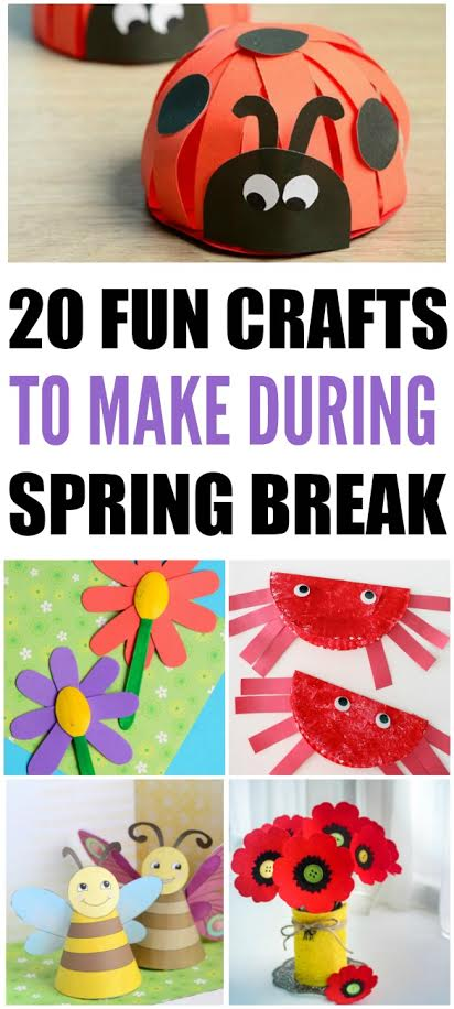 Spring Craft Projects #BoredomBusters
