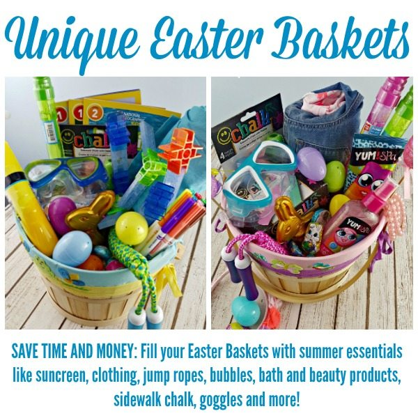 SAVE TIME AND MONEY with Unique Easter Baskets + Gifts #ad #YumSpaBeauty #Brackitz #EdibleEaster #OshKoshKids