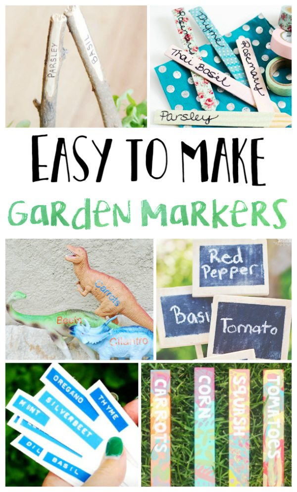 Easy to Make Garden Markers