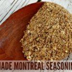 Homemade Montreal Seasoning Mix